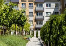 Osiedle Lokum di Trevi - zagospodarowanie części wspólnych