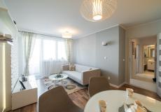 Mieszkanie zrealizowane w programie Lokum pod klucz - salon z jadalnią