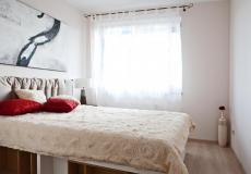 mieszkanie wzorcowe, sypialnia (Lokum da Vinci)