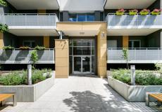 Osiedle Lokum Viva - budynek A, wejście do budynku