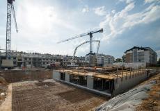 Osiedle Lokum di Trevi - etap VII - prace przy budowie parteru