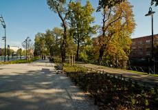 Promenada Staromiejska - aleja spacerowa