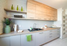 Mieszkanie zrealizowane w programie Lokum pod klucz - kuchnia