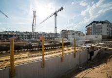 Osiedle Lokum di Trevi - etap VII - prace przy fundamentach