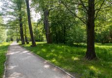Park Wschodni znajdujący się w pobliżu osiedla Lokum di Trevi