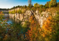 Zalew Zakrzówek - okolice osiedla Lokum Siesta