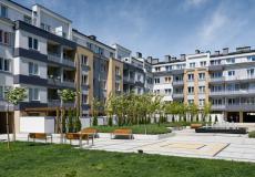 Osiedle Lokum di Trevi - dziedziniec II i III etapu