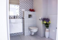 mieszkanie wzorcowe, łazienka - toaleta (Lokum da Vinci)