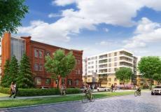 Osiedle Lokum Victoria - zabytkowy budynek biurowy oraz dawna waga, etap V