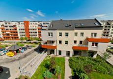 Wrocław mieszkania (Grabiszyn) - widok na parking