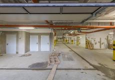 Osiedle Lokum di Trevi - etap VII, prace w hali garażowej