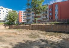 Osiedle Lokum Vena - teren budowy