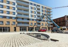 Osiedle Lokum Victoria - etap IVa, prace przy balkonach