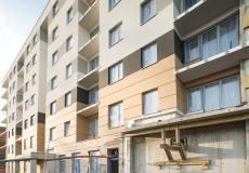 Etap IVa - prace przy balkonach i strefach wejściowych