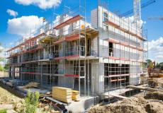 Osiedle Lokum Vista - wznoszenie kondygnacji budynku etapu I