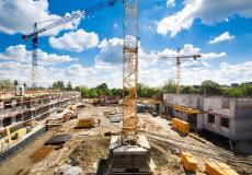 Teren budowy osiedla Lokum Vista